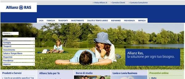 Disdetta della Polizza Full Casa Allianz RAS