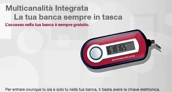 Monte dei Paschi di Siena Internet Banking Login