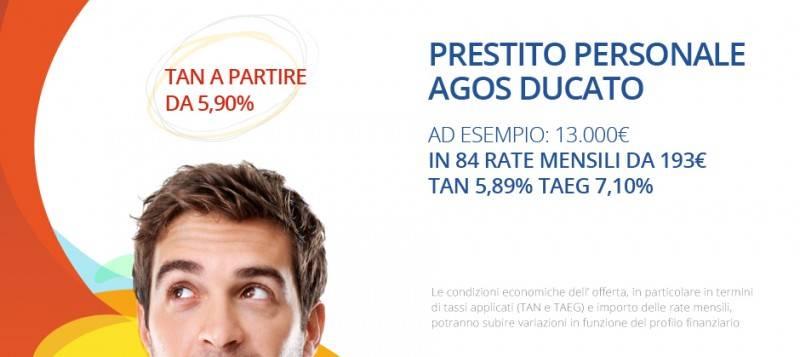 Agos Ducato: Le Offerte sui Prestiti Personali
