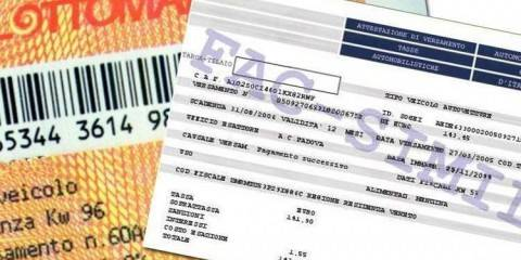 Bollettino Postale Bollo Auto Compilabile per il pagamento online