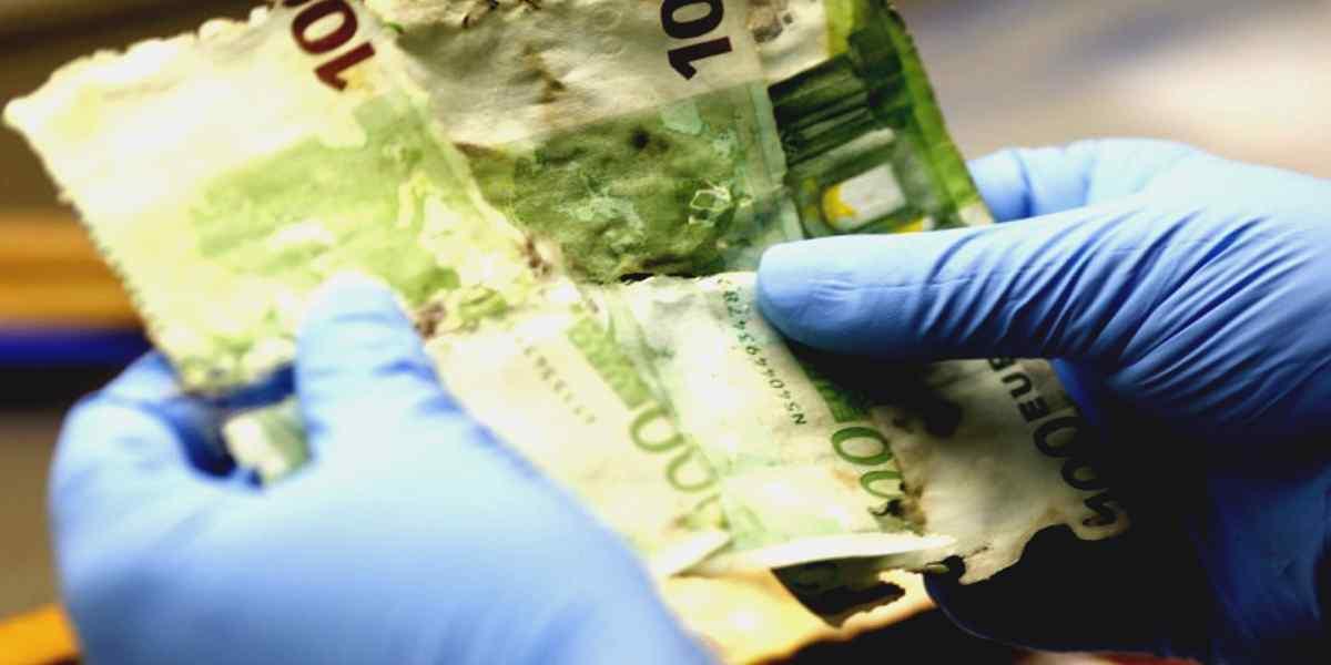 Rimborso banconote danneggiate