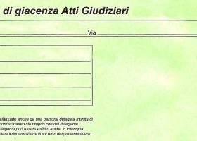 Raccomandata Indescritta Verde codice 75, 76, 77 o 78 . Multa o atto giudiziario