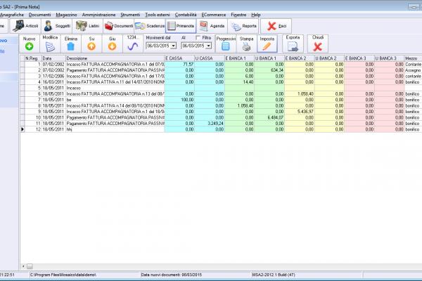 Fac Simile Scadenzario Pagamenti Excel