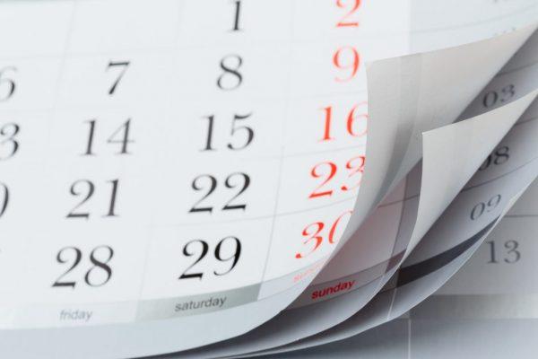 Calendario scadenze 2018 per avere la situazione sotto controllo