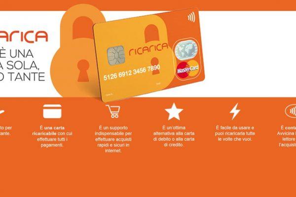 Come ricaricare la carta di credito prepagata