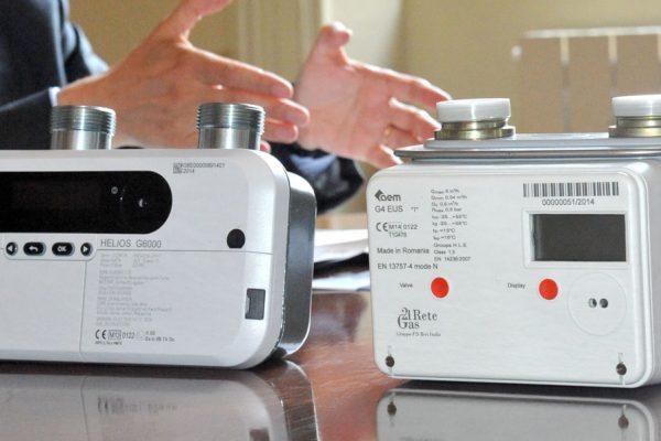 Come funziona il contatore del gas elettronico