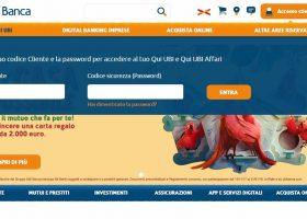UBI Banca accesso clienti