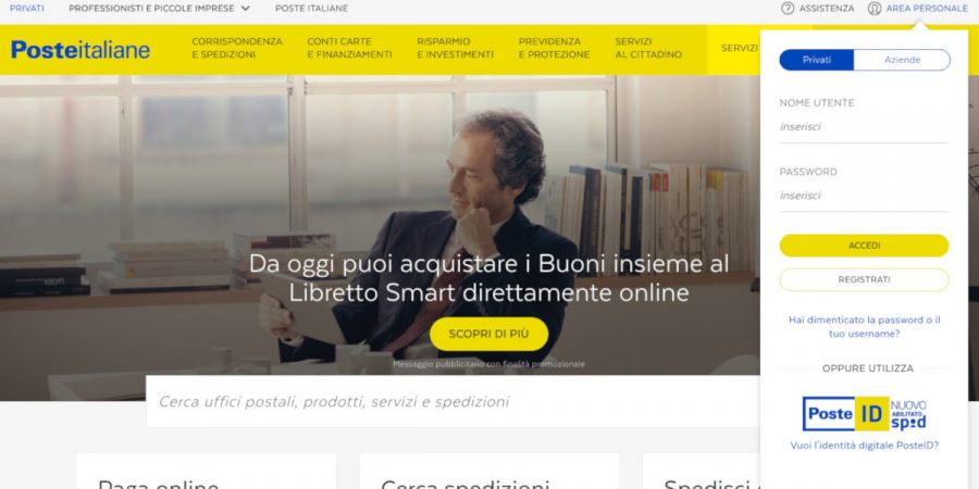 sito-poste-italiane