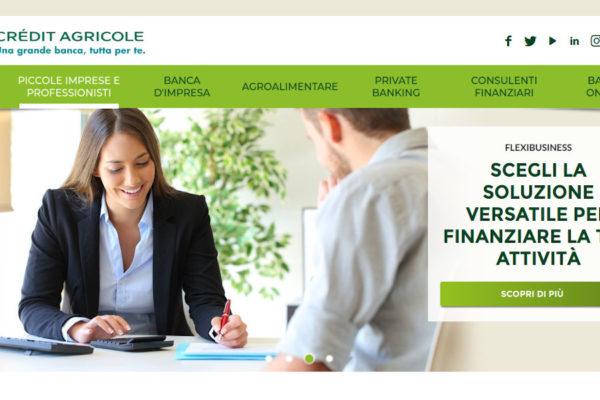 Cariparma Nowbanking Piccole Imprese Home Page
